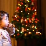 Как фотографировать ночью новогодние огни