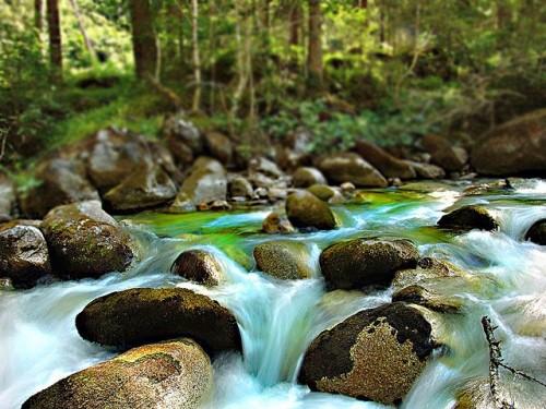Фотографируем текущую воду