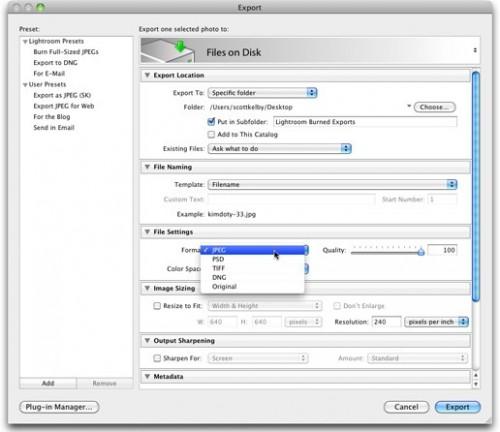 Советы по Adobe LightRoom