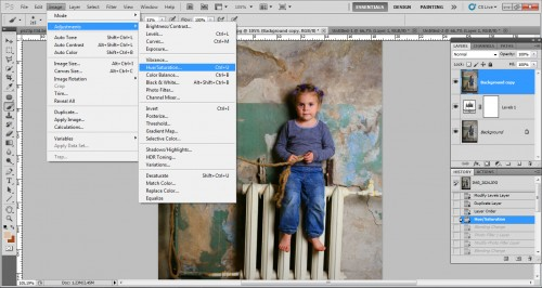 Кросс-процесс в Фотошопе