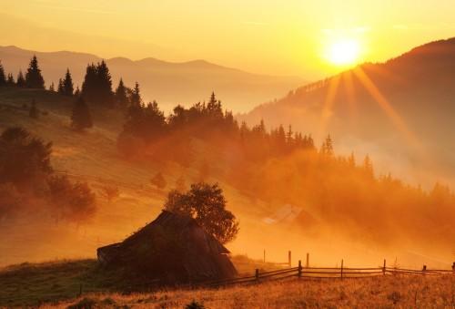Как снимать пейзаж в тумане