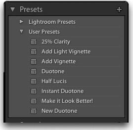 Пресеты для LightRoom