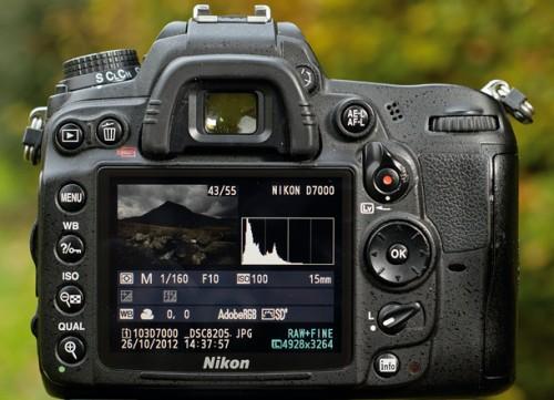 Nikon d3100 live view