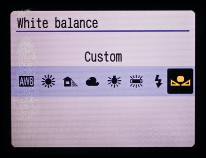 Упражнения ручного баланса белого