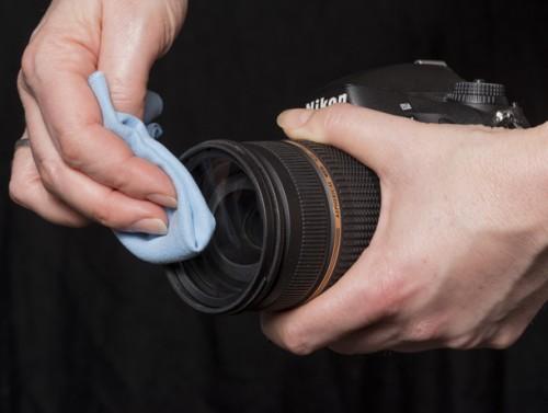 Чистка объектива фотоаппарата