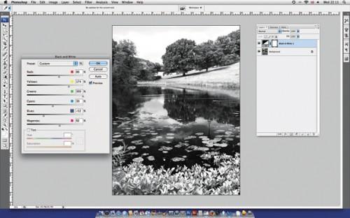 Советы по черно белой фотографии